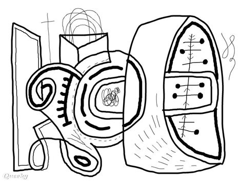 coloring pages modern art abstract and art coloring pages medium into hard level