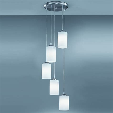 Contemporary Pendant Ceiling Lights Franklite Co9575 727 Modern Pendant 5 Light Ceiling Pendant
