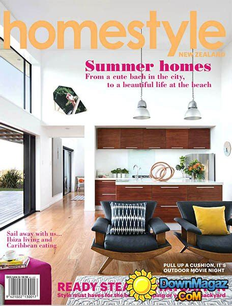 home design magazines nz homestyle new zealand december 2013 january 2014