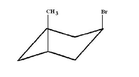 Chair Conformation How Can I Draw The Cis 1 Bromo 3 Methylcyclohexane Chair