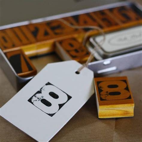 rubber st letters and numbers vintage rubber number sts and ink pad by the wedding of