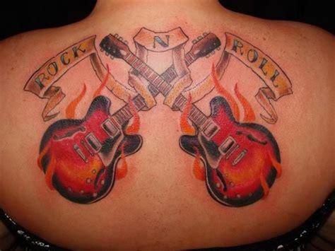 rock n roll tattoos designs rock n roll picture