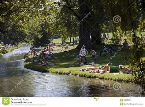 Englischer Garten München Central Park New York by Englischer Garden Editorial Image Image 33838525
