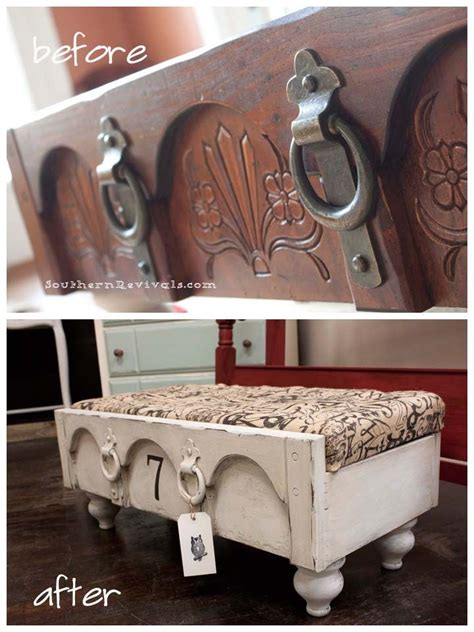 Repurposed Dresser Drawers by Green Living Adventure Repurpose Dresser Drawer