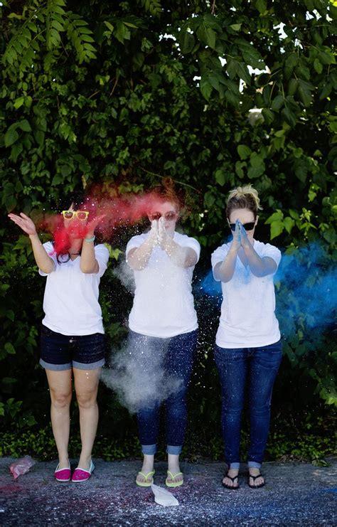 color run powder diy nontoxic colored powder a beautiful mess