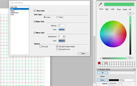 sketchup layout grid lines changing document grid color in layout help layout