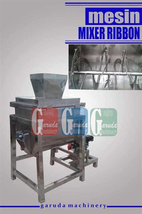 Mesin Mixer Pakan Ternak Bekas jual mesin pengaduk bubuk mixer ribbon harga murah