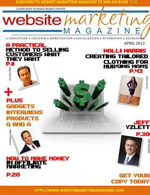 How To Make Money From Online Magazine - collection website marketing magazine magcloud