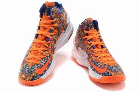 blue and orange kd 5 discount nike kd 5 orange white blue cheap