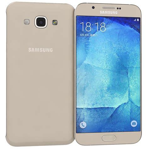 Samsung A8 Gold Samsung Galaxy A8 Gold 3d Obj