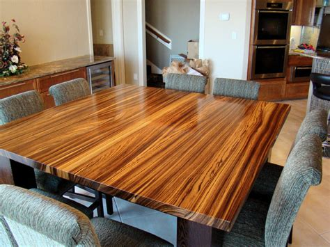 Dining Room Furniture San Antonio by Zebrawood Amp Wenge Table By Devos Woodworking Modern Dining