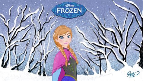 wallpaper frozen una aventura congelada anna frozen una aventura congelada by eduardosq on