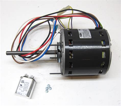 air conditioner blower motor capacitor furnace air handler blower motor 3 4 hp 1075 rpm 230 volt 3 speed for fasco d729 ebay