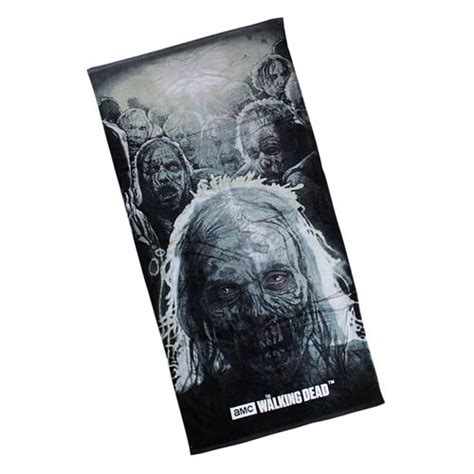 walking dead bathroom the walking dead zombie cotton towel robe factory
