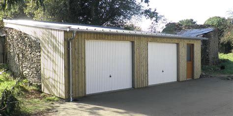 garage bois toit plat beau construire un abri de jardin toit plat 3 plan