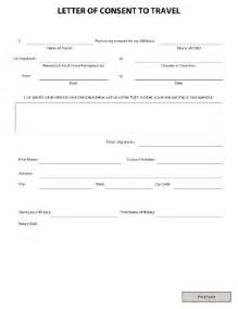 Parent Permission Letter For Unaccompanied Minor Letter Of Consent To Travel Fill Printable Fillable Blank Pdffiller