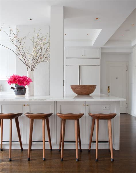 Bar Stools For White Kitchen by Farmhouse Front Door Exterior Farmhouse With Brick Chimney