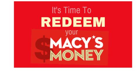Redeem Macy S Gift Card Online - it s time to redeem your macy s money magic style shop