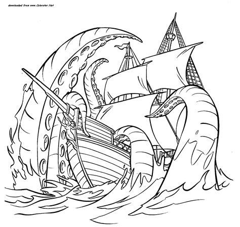 dessin bateau pirates des caraibes - Dessin Bateau Pirate Des Caraibes