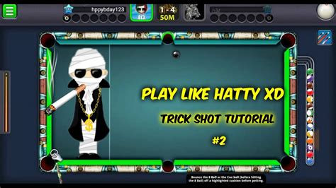 tutorial how to hack 8 ball pool how to play like hatty xd 8 ball pool trick shot tutorial