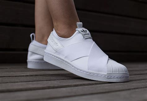 Sale Adidas Slip On adidas superstar slip on w shoes white weare shop