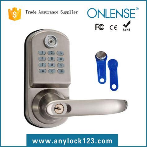Iphone Front Door Lock Knob Keyless Electronic Digital Door Lock Smart Code