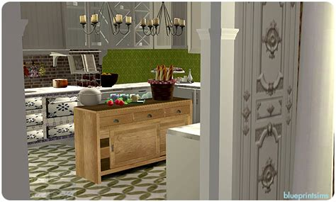 sims 3 foyer ideas blueprint sims farren house kitchen foyer