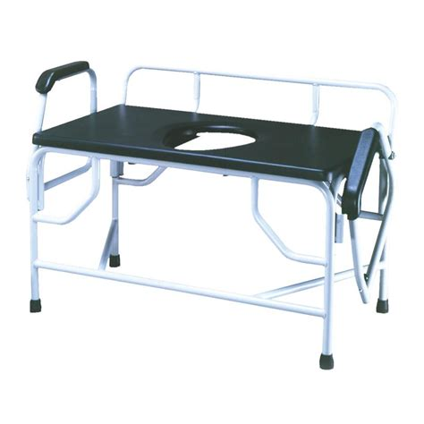 bed side commode convaquip bariatric bedside drop arm commode commode chairs