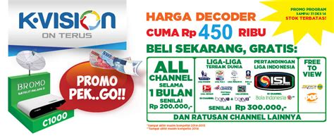 Harga Paket All Channel K Vision harga promo decoder k vision bulan november 2014 info