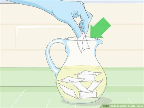 How To Make A Flash Paper - how to make flash paper with pictures wikihow