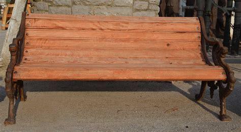 panchina ghisa e legno orvieto arte panchina in legno e ghisa