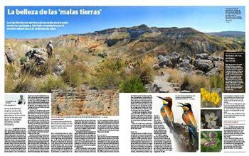 malas tierras bad badlands malas tierras estratigrafias c 225 rcavas en waste magazine