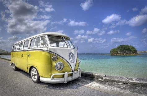 Volkswagen Van Beach Volkswagen Van Style Pinterest