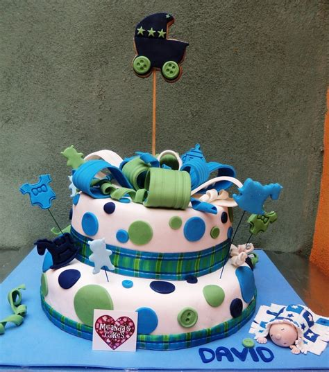 Bizcocho Baby Shower Niño by Cake For Boy S Baby Shower Pastel Para Baby Shower De
