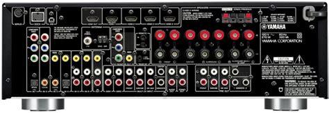 yamaha rx     voltage av receiver rxv dual