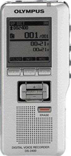 format audio dss olympus 142015 model ds 2400 digital voice recorder save