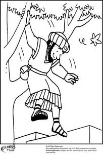 zacchaeus coloring page free coloring pages of zacchaeus