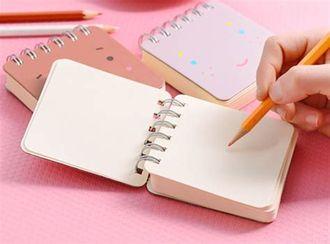 Craft Paper Notebook - craft paper spiral notebook commercial print services
