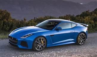 Blue Jaguar F Type Jaguar F Type Svr Review Roundup Prior To Goodwood Debut