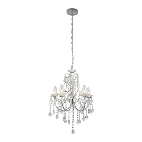 bathroom chandeliers ip44 endon tabitha 5lt pendant ip44 18w chandelier bathroom