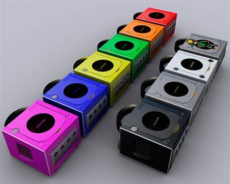 gamecube colors produzido pela empresa japonesa nintendo gamecube foi