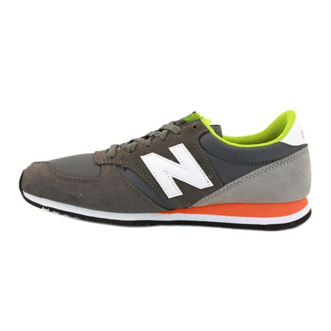 New Balance 420 new balance 420 u420gog mens laced suede trainers