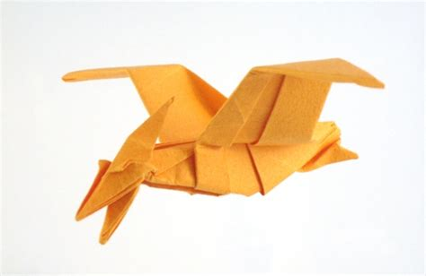 Origami Pteranodon - dinosaur origami by montroll book review gilad s