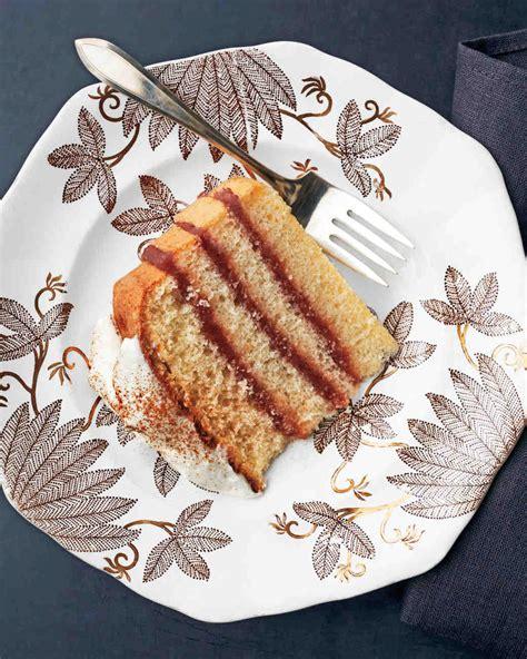 martha stewart butter cake apple butter layer cake recipe martha stewart weddings