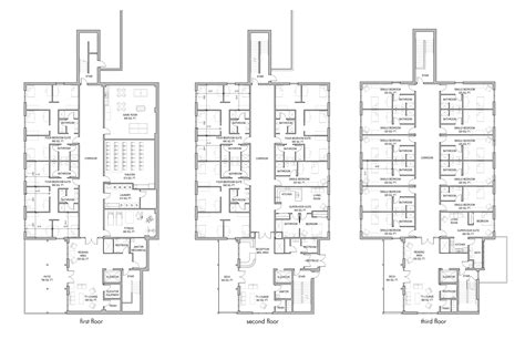 boarding house floor plan school design layout plan modern house
