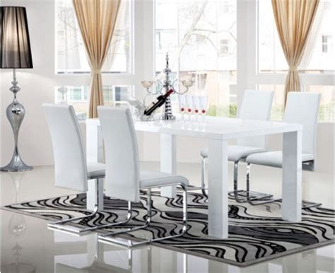 Dining Table And Chairs Belfast Extending White Gloss Dining Table Northern Ireland Keens Furniture