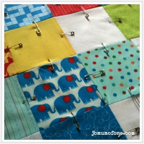 Quilting For Beginners Step By Step by How To Make A Cotbed Quilt For Beginners Step 7 Layering