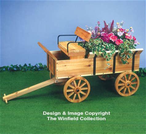 wooden wagon planter planter woodworking plans hay wagon planter wood plan