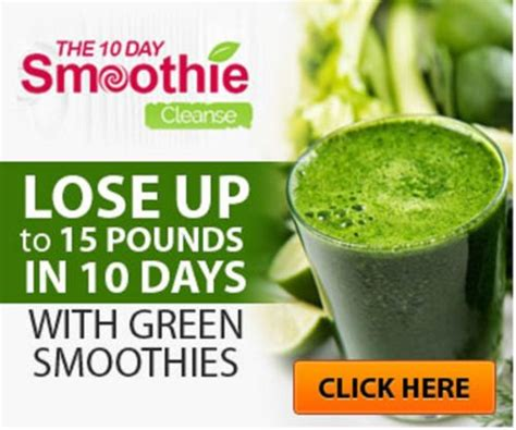 10 Day Detox Diet Smoothies by 10 Day Smoothie Cleanse Diet Coldposts