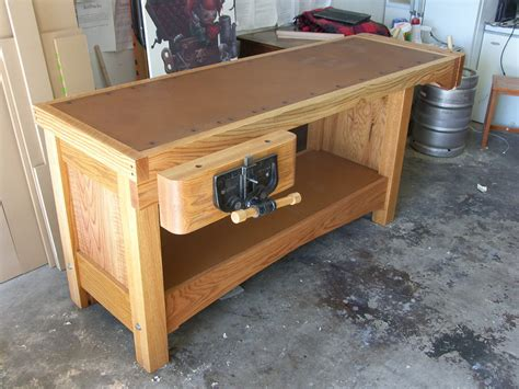 how to bench heavy heavy duty workbench by rydell lumberjocks com woodworking community